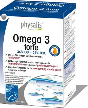 Physalis Omega forte 3  60 caps