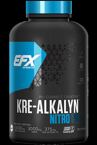 EFX Kre-Alkalyn Nitro PRO - 120 Caps