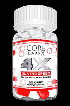 Core Labs 4 X QUATRO SPEED 30 caps
