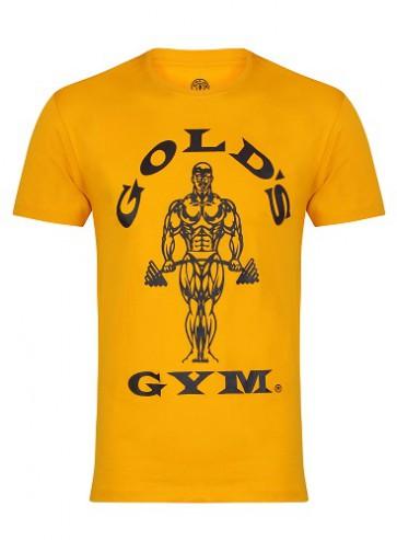 Gold´s Gym GGTS002 Muscle Joe T-Shirt - gold