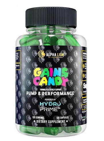 Alpha Lion Gains Candy Hydroprime™ (120 Capsules)