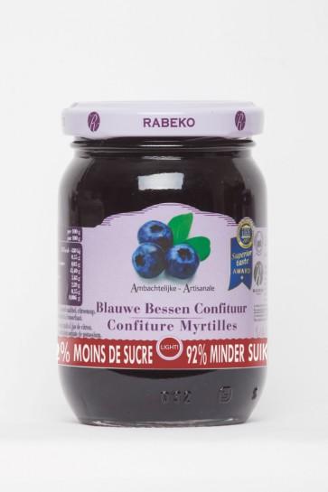 Rabeko 92% minder suiker Blauwe Bessen 1 x 235 g