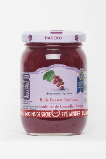 Rabeko 92% minder suiker Rode Bessen 1 x 235 g