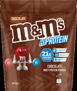 M&M's HiProtein Powder (875 gr)