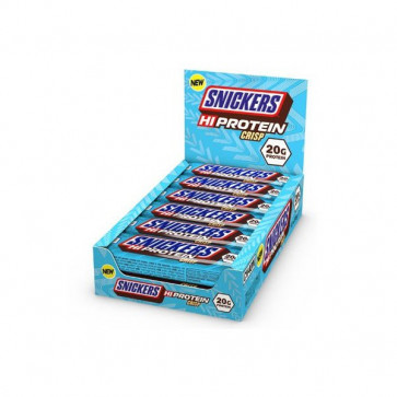 Snickers High Protein Crisp Bar 12x55 gr