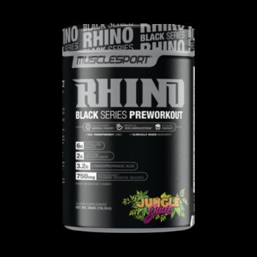 MuscleSport – RHINO Black – Pre 40 SERV