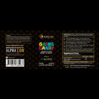 Alpha Lion Gains Candy - Teacrine® (60 Servings)