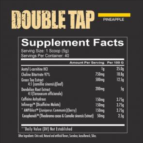 Redcon1 Double Tap Powder 40 Serv (Fatburner)