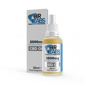 HR LABS CBD Oil - 2000mg  1 x 30 ml