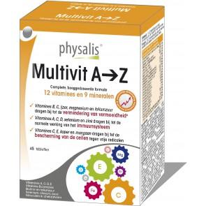 Physalis Multi A-Z 45 Tabs
