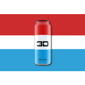 3D Energy Drink 24 x473ml Liberty pop