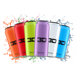 3D Energy Drink 24 x473ml