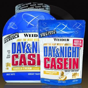 Weider Total Day & Night Casein 0,5kg