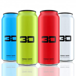 3D Energy Drink 12 x473ml