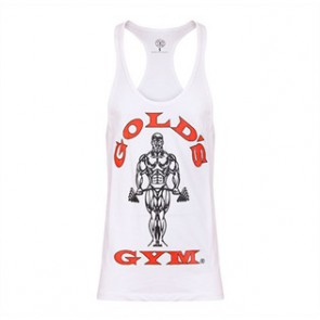 Gold´s Gym Classic Stringer Tank Top - Weiß