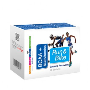 Activlab  Run & Bike BCAA + Multivitamins sticks (10x5g)