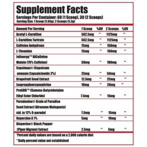 Alpha Lion CHEETAH - Thermogenic Fat Loss Formula