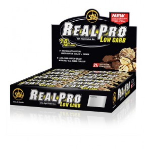 All Stars RealPro low carb 24x 50g Dispaly