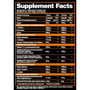 Alpha Lion SuperHuman Burn (50 Servings)