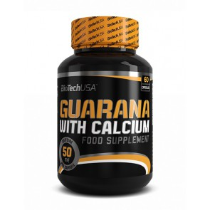 BioTech Guarana with Calcium 60 Kapsel