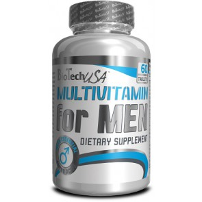BioTech Multivitamin for Men 60 Tabl.