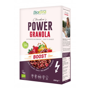 POWER GRANOLA BOOST 250 gr