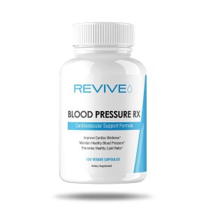 Revive MD Blood Pressure Rx 120 Veggie Caps