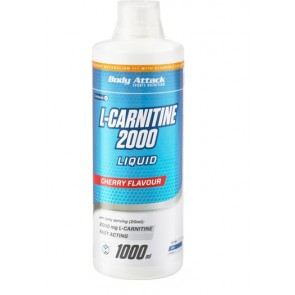 Body Attack L-Carnitine Liquid, 1000ml