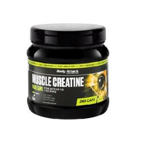 Body Attack Muscle Creatine (Creapure) 240 Caps