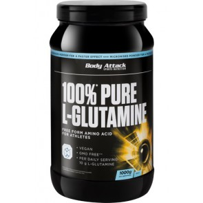 Body Attack Pure L-Glutamine 1kg