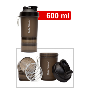 Body Attack SmartShake Logo - 600ml Gunsmoke