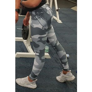 BPS-Pharma - Damen-Leggings Camo Grey