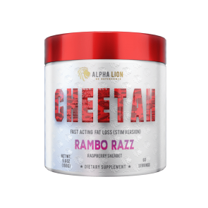 Alpha Lion CHEETAH - Thermogenic Fat Loss Formula