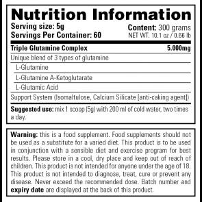 Complete Glutamine 300 gr