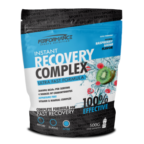 INSTANT RECOVERY COMPLEX RASPBERRY / KIWI 500g