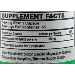 Ibutamorin MK-677 35mg 45 caps