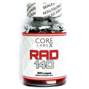 Core Labs RAD5mg 60 caps