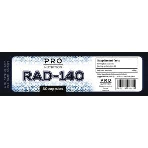 Pro nutrition Rad-140 60 caps