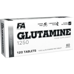 FA Nutrition Performance Glutamine - 120 caps
