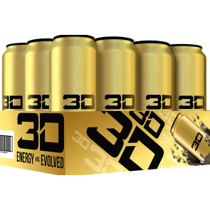 3D Energy Drink 24 x473ml Gold