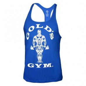 Gold´s Gym Classic Stringer Tank Top - Blau