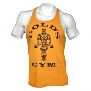 Gold´s Gym Classic Stringer Tank Top - Gold