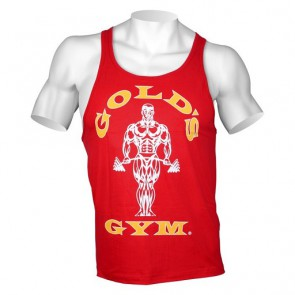 Gold´s Gym Classic Stringer Tank Top - Rot