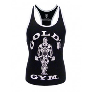 Gold´s Gym GGLVST021  - Ladies Loose Fit Tank - black