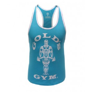 Gold´s Gym GGLVST021  - Ladies Loose Fit Tank - turquoise