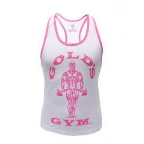 Gold´s Gym GGLVST021  - Ladies Loose Fit Tank - white