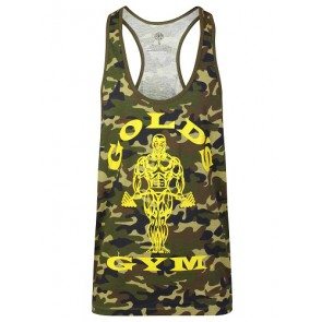 Gold´s Gym GGVST051 Muscle Joe Premium Tank Camo - green