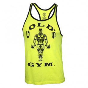 Gold´s Gym Muscle Joe Contrast Stringer Tank - Neon