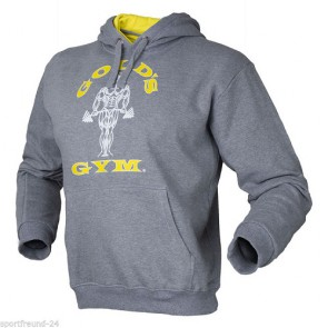 Gold´s Gym Muscle Joe Pullover Hoodie - grau