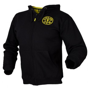 Gold´s Gym Muscle Joe Zip Hoodie - schwarz